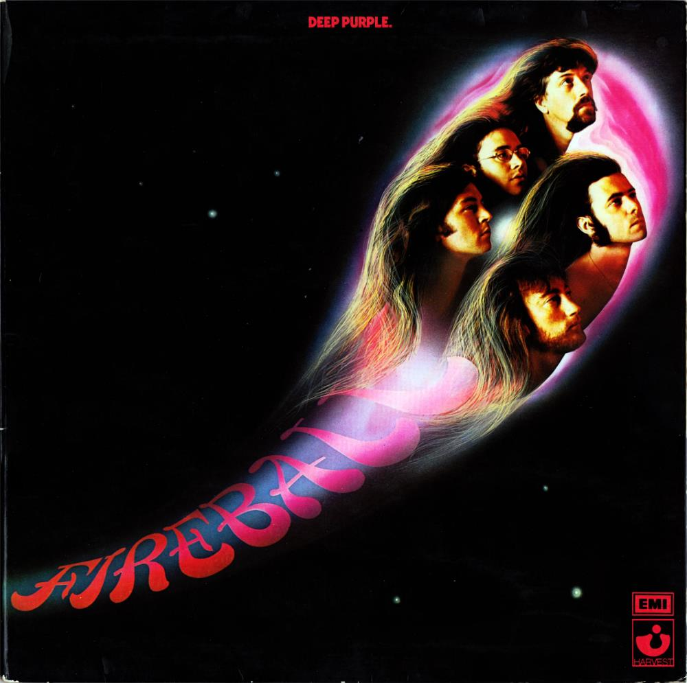 Fireball by DEEP PURPLE album cover