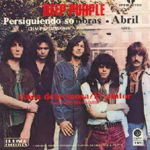 Deep Purple April album cover