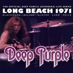 Deep Purple Long Beach 1971 album cover