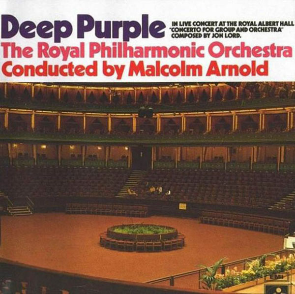 Deep Purple Concerto for Group and Orchestra album cover