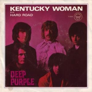 Deep Purple Kentucky Woman / Hard Road album cover