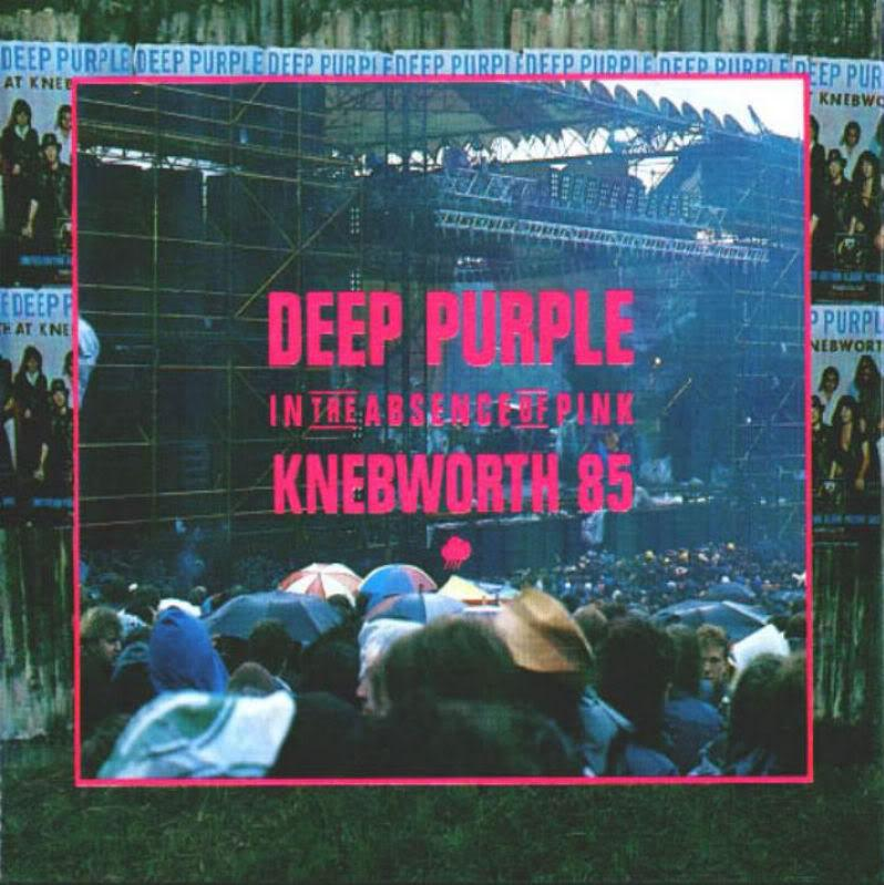 Deep Purple In The Absence Of Pink: Knebworth 85 album cover