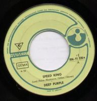 Deep Purple Speed King / Into the Fire album cover