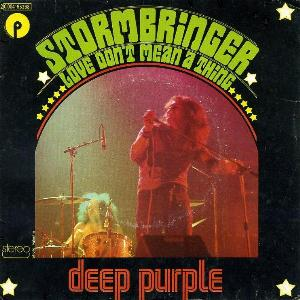 Deep Purple Stormbringer album cover