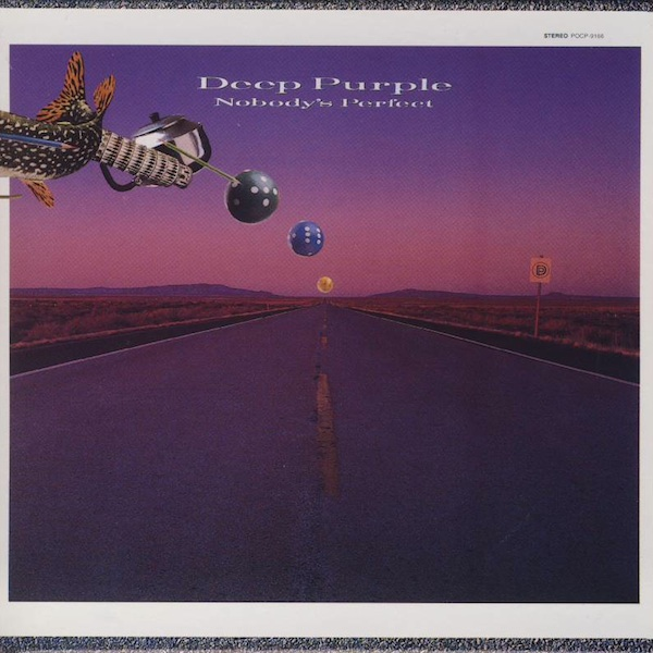 Deep Purple - Nobody's perfect  CD (album) cover
