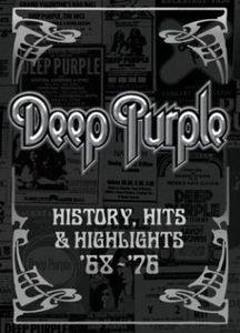 Deep Purple - History, Hits, & Highlights CD (album) cover