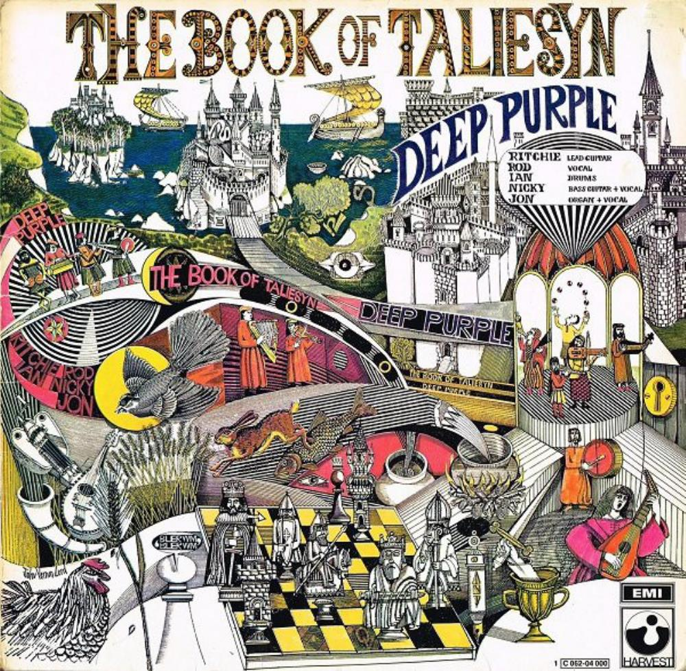 The Book Of Taliesyn by DEEP PURPLE album cover