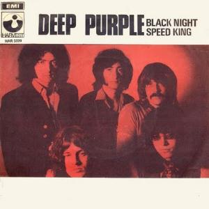 Deep Purple Black Night/Speed King album cover