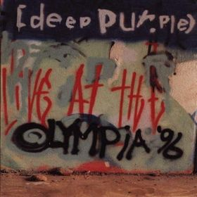 Deep Purple Live At The Olympia 96 album cover