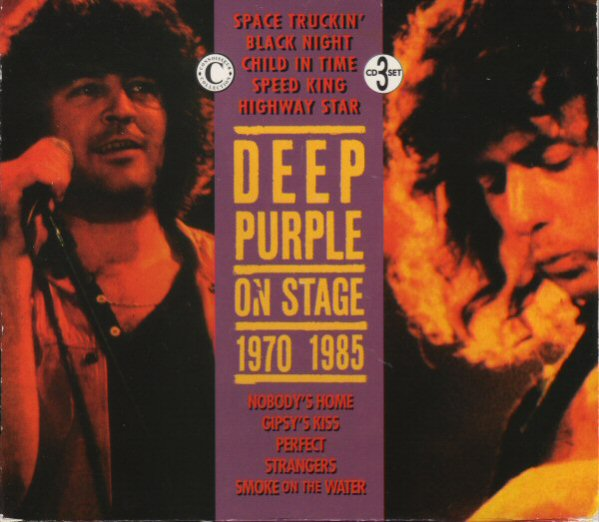 Deep Purple On Stage 1970 -1985 album cover