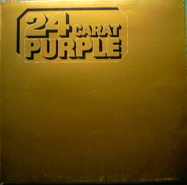 Deep Purple - 24 Carat Purple CD (album) cover