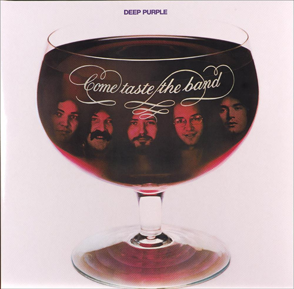 Deep Purple - Come Taste The Band CD (album) cover
