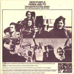 Deep Purple Perks And Tit  album cover