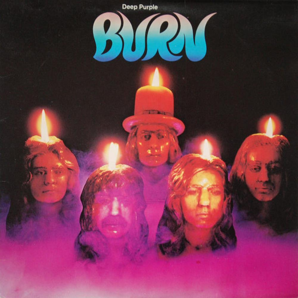 Burn by DEEP PURPLE album cover