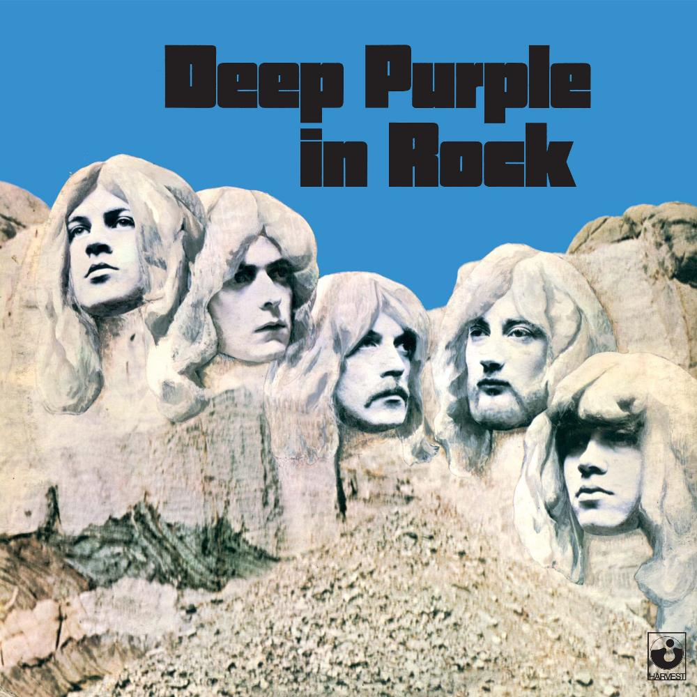 Deep Purple in Rock by DEEP PURPLE album cover