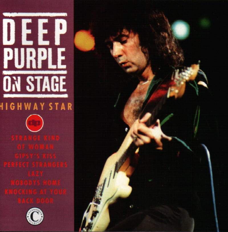 Deep Purple On Stage: Highway Star album cover