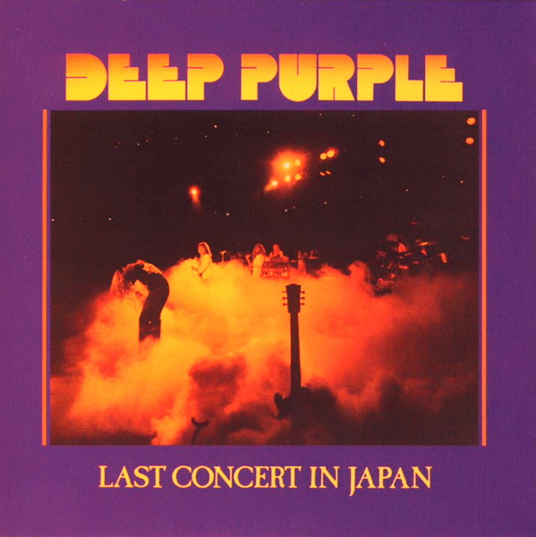 Deep Purple - Last Concert In Japan CD (album) cover