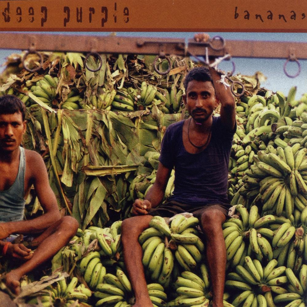 Bananas by DEEP PURPLE album cover