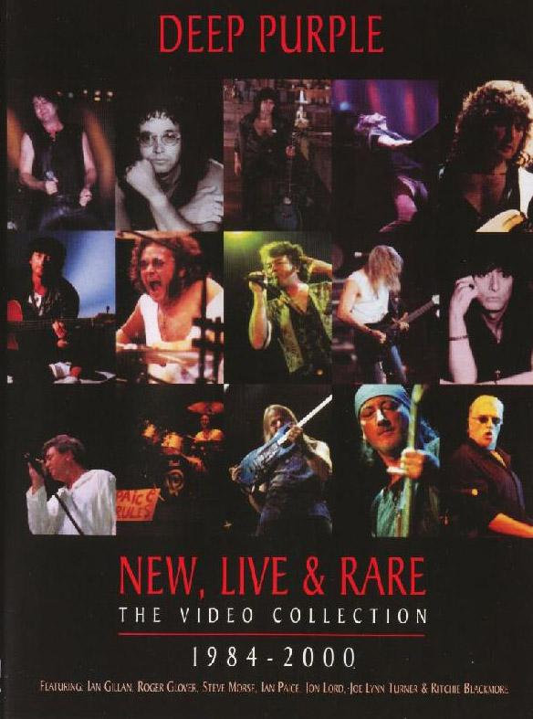 Deep Purple New, Live & Rare - The Video Collection 1984-2000  album cover