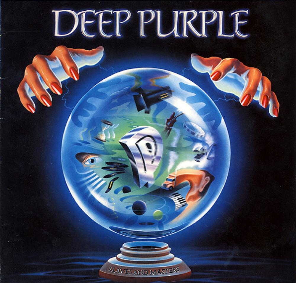 Slaves And Masters by DEEP PURPLE album cover