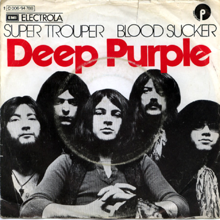 Deep Purple Super Trouper / Blood Sucker album cover