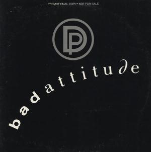 Bad Attitude by DEEP PURPLE album cover