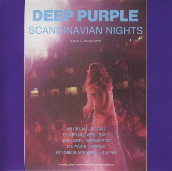 Deep Purple Scandinavian Nights (AKA Live and rare) album cover