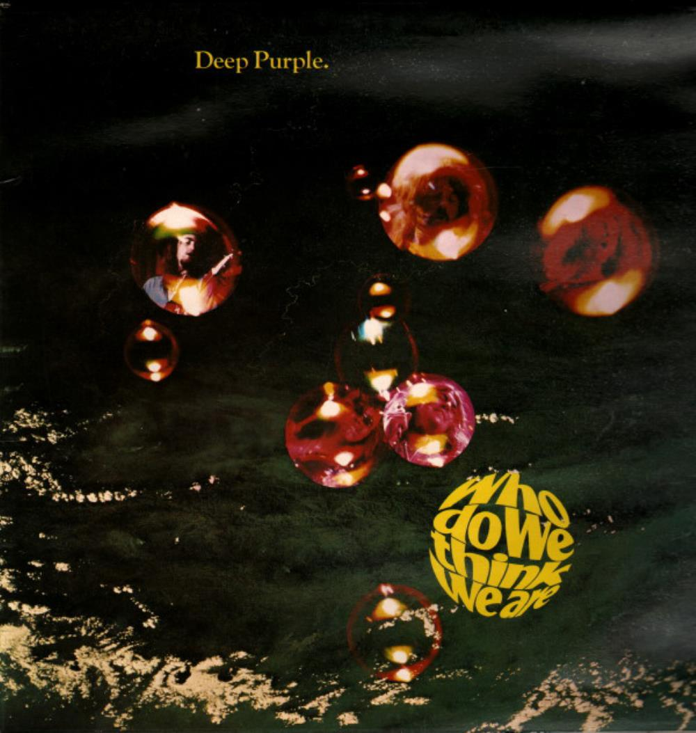 Who Do We Think We Are by DEEP PURPLE album cover