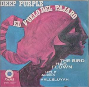 Deep Purple El vuelo del pajaro (The Bird Has Flown) album cover