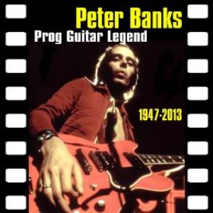 Prog Guitar Legend 1947-2013 by BANKS, PETER album cover