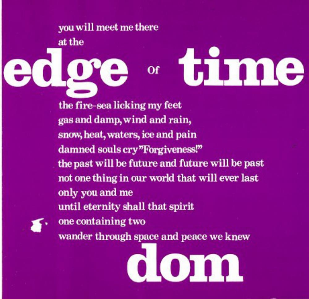 Edge Of Time by DOM album cover