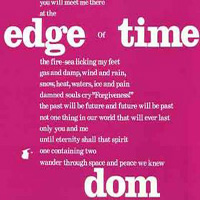 Dom - Edge Of Time CD (album) cover