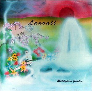 Melolydian Garden  by LANVALL album cover