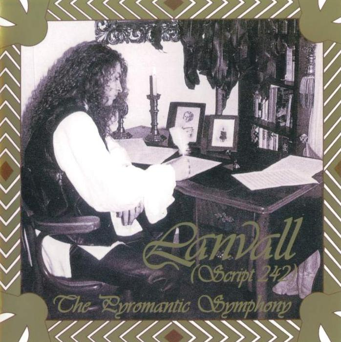 Lanvall - The Pyromantic Symphony  CD (album) cover