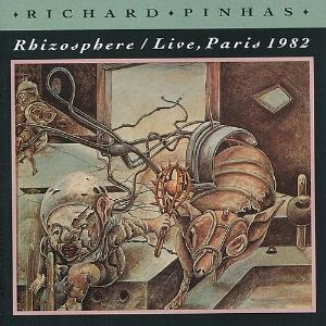 Richard Pinhas Rhizosph�re / Live Paris 1982 album cover