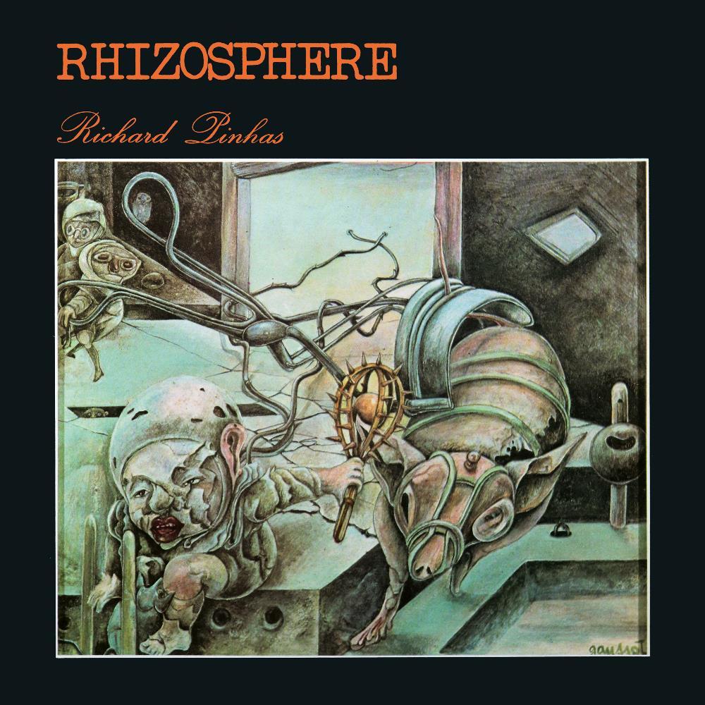 Rhizosphère by PINHAS, RICHARD album cover