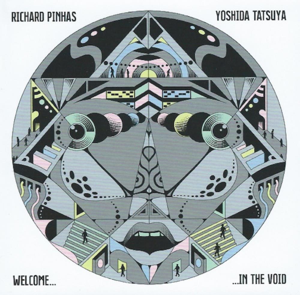 Richard Pinhas & Tatsuya  Yoshida: Welcome In The Void by PINHAS, RICHARD album cover