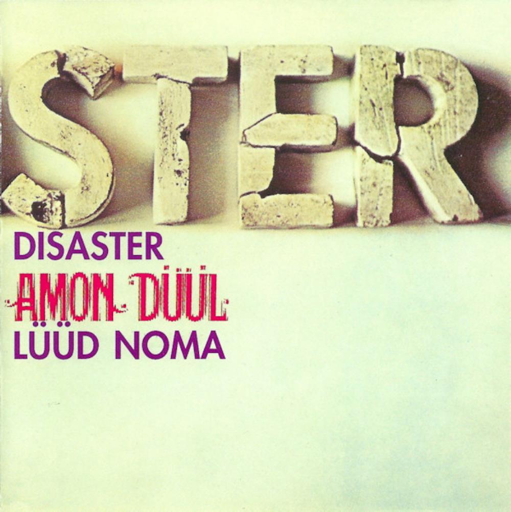 Disaster / Lüüd Noma  by AMON DÜÜL album cover