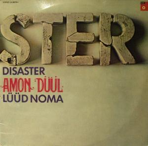 Amon D��l - Disaster CD (album) cover