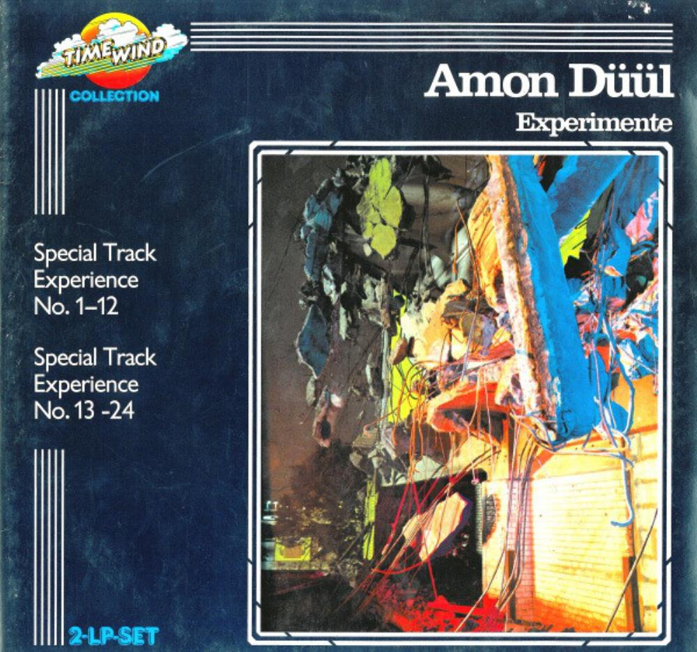 Experimente by AMON DÜÜL album cover
