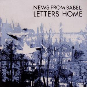 News From Babel - Letters Home CD (album) cover