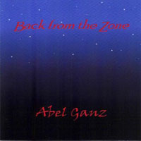 Abel Ganz Back From The Zone album cover