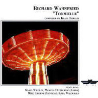 Richard Wahnfried - Tonwelle CD (album) cover