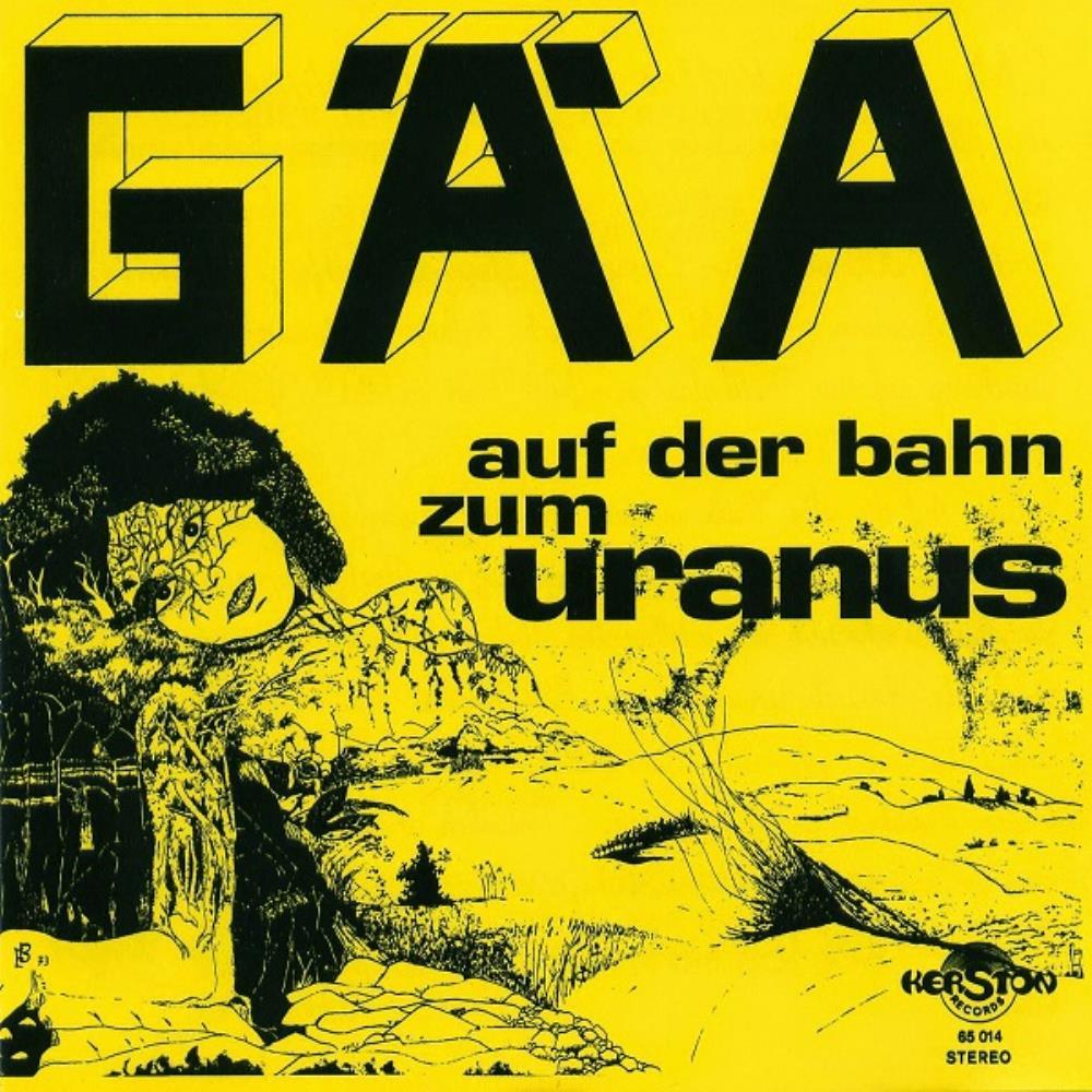 Auf Der Bahn Zum Uranus by GÄA album cover