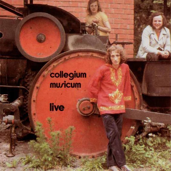 Collegium Musicum Live  by COLLEGIUM MUSICUM album cover