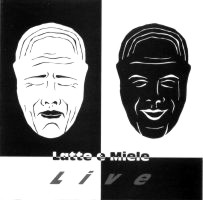 Latte e Miele Live album cover