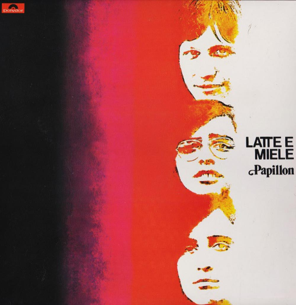 Latte E Miele - Papillon CD (album) cover