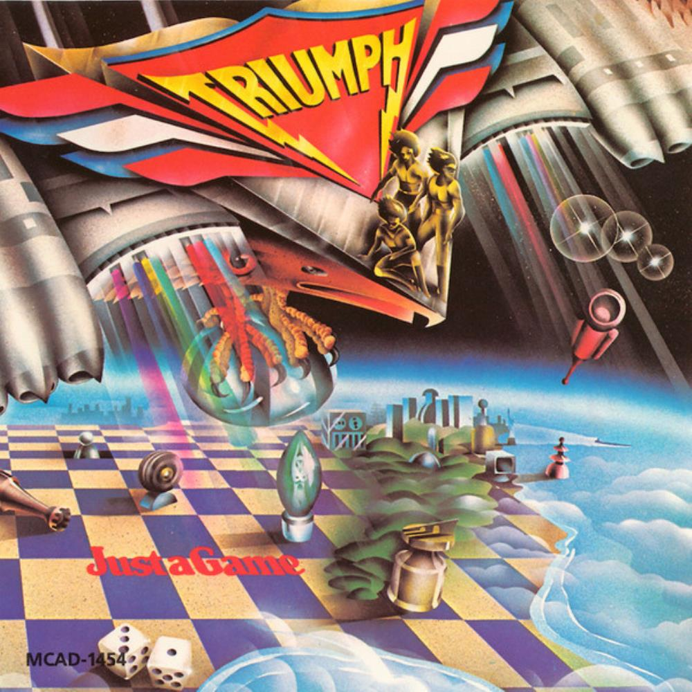 Triumph - Just A Game CD (album) cover