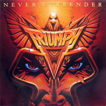 Triumph Never Surrender album cover