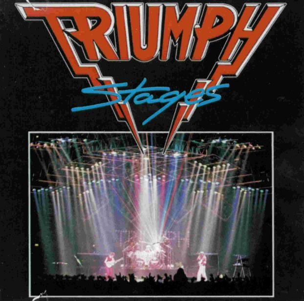 Triumph Stages album cover